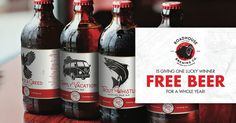 To celebrate the release of our ales, one lucky winner will receive A YEAR OF ROADHOUSE FREE BEER. That's a case shipped to your home each month for a year. Throughout the contest, there will also be chances to win great Roadhouse swag. Good Luck and Cheers!