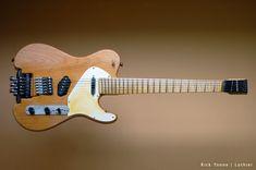 Guitar designs by Rick Toone.