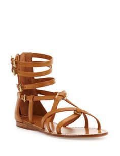 TORY BURCH Lucas Leather Gladiator Sandal