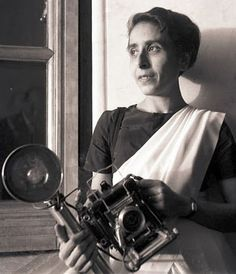 "Homai Vyarawalla (1913-2012), India's first female photojournalist (known by the pseudonym ""Dalda 13"") recipient of the Padma Vibhushan, India's second highest civilian award"