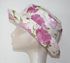 Pink Poppy Rain Hat from Lojango Design