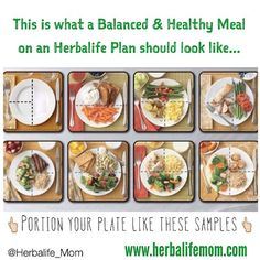 Positive Weight Loss Results = Eat Clean + Follow the Herbalife Meal Plan ~ Fit Club United