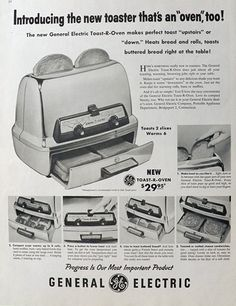 1957.      I grew up with this toaster.