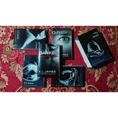 """""""I am a new being. A new Christian Grey. I am in love with Anastasia Steele, and whats more, she loves me. Of course the girl needs to have her head examined, but right now, Im grateful, spent, and happy."""" — Christian Grey ......oh horrraaay to weekend! Binge-reading for the movie will be in big screen next month. ❤❤❤ ....#CeeReads #ELJames #Darker #BookoftheNight  #BookGasm  #BookBum #BookGasmPh Am In Love, Love Her, Fully Booked, Im Grateful, Instagram Widget, Christian Grey, Anastasia, Website, Reading"""