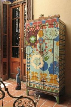 Painted furniture by gilda #painted #furniture #boho