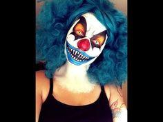 Clown Makeup Tutorial - YouTube