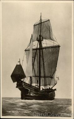 This is the ship my love proposed to me on. The Nonsuch.