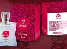 embalagem para perfume feminino
