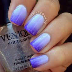 Ombré nails nails nails, nail tutorials и pretty nails Nails Yellow, Purple Ombre Nails, Blue Ombre, Manicure, Gel Nails, Gorgeous Nails, Pretty Nails, Fancy Nails, Powder Nails