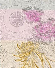 Amazon.com: Chinese Brocade Satin Fabric (Butterfly)