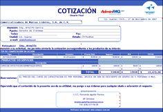descargar gratis modelos plantillas formatos de cotizaciones presupuestos proformas para negocios