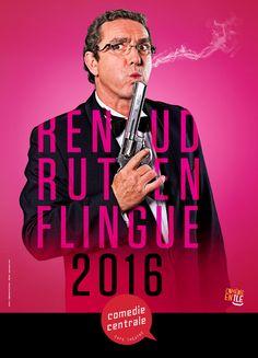 Renaud Rutten flingue 2016 Café Theatre, Movies, Movie Posters, Films, Film Poster, Cinema, Movie, Film, Movie Quotes