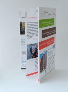 Brochure touristique bilingue - Office de Tourisme de Wattrelos.
