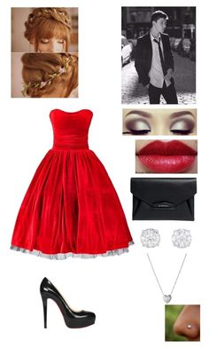 Prom with Shawn Mendes by emilybrooks1 on Polyvore featuring polyvore, fashion, style, Christian Louboutin and Givenchy