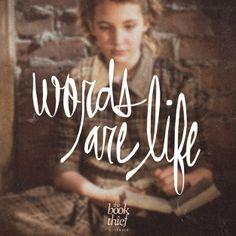 Words Are Life // Don't you agree fellow bookworms?  Check out our #giveaway prize pack for #TheBookThief film adaptation! Win the book & a giftcard to go see the movie.
