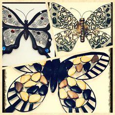 Vlinders metaal