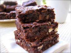 Skinny Chocolate Coconut Cake Mix Cookie Bars with 3 Weight Watchers PointsPlus value
