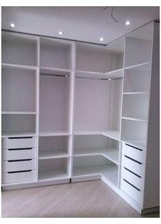 Wardrobe Design Bedroom, Diy Wardrobe, Master Bedroom Closet, Bedroom Wardrobe, Modern Wardrobe, Bedroom Desk, Master Bedrooms, Corner Wardrobe Closet, Bedroom Closets