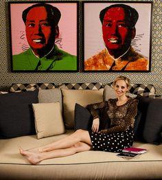 At home with Lauren Santo Domingo, via Vogue.com