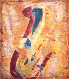 """Saatchi Art Artist: Roberto Curoso; Oil 2012 Painting """"Sax mild"""""""