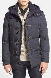 BOSS HUGO BOSS 'Darcon Doen' Mixed Media Quilted Jacket