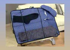 É fácil criar um organizador de malas para presentear seu paizão com um item super útil para ele! Es
