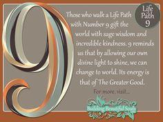 Numerology 9   Life Path Number 9   Numerology Meanings  #MediumMaria