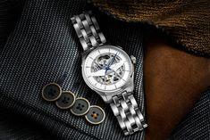 Hamilton Gets Bare Bones With Jazzmaster Skeleton Watch - Maxim Hamilton Jazzmaster, Bare Bone, Skeleton, Bones, Brown Leather, Rose Gold, Watch, Accessories, Bracelet Watch