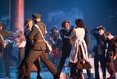 THE BLOODY IRISH a new musical about the 1916 Easter Rising, is Broadway-bound. The show will reportedly open at the Neil Simon Theatre in April before launching a North American tour. An official announcement has not yet been made.  Written by Barry Devlin, directed for the stage by Michael Barker-Caven, music composed and arranged by David Downes, this 80 minute musical drama played at the Dublin City University's Helix Theatre last year and was broadcast in the US in October 2015 on PBS.
