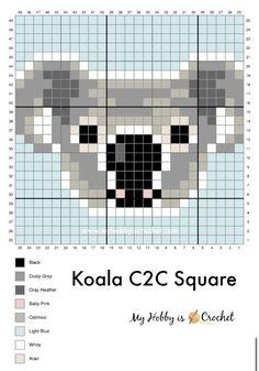 Crochet C2c Pattern, Pixel Crochet, Crochet Chart, Free Crochet, Crochet Wall Hangings, Tapestry Crochet, Cross Stitch Designs, Cross Stitch Patterns, Manta Animal