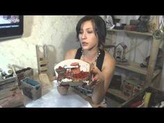 Декупаж -вживление рисунка - YouTube