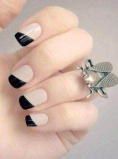 #nails #design   i like these ones because then you can where what ever like dress you want or clothing you want