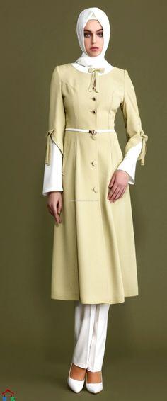 Açık Renk Kap | Armine | Setrms | Kayra | Aker | Alvina Street Hijab Fashion, Abaya Fashion, Modest Fashion, Fashion Outfits, Womens Fashion, Hijab Abaya, Moslem Fashion, Hijab Style, Abaya Designs