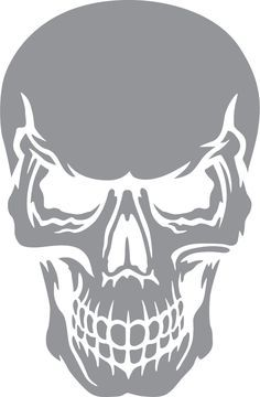 Glass etching stencil of Skull with Angry Expression. In category: Culture Glass etching stencil of Skull with Angry Expression. In category: Culture Pin: 262 x 400 Skull Stencil, Stencil Art, Camo Stencil, Stenciling, Angry Expression, Glass Etching Stencils, Skull Artwork, Skull Wallpaper, Stencil Templates