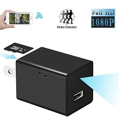 HIGH HD Spy Camera USB Wall Charger Mini Motion Detection AC Adapter Nanny Cam