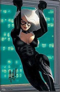Batman a Catwoman karikatúra porno