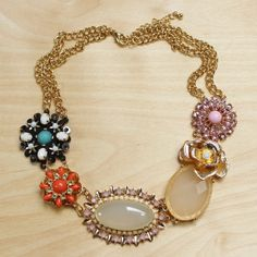 Floral Rhapsody Necklace #cutebaubles #cute #baubles #mimiboutique