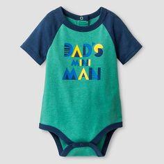Baby Boys' Short-Sleeve Mini Man Bodysuit Baby Cat & Jack™ - Green
