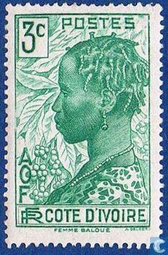 Ivory Coast [CIV] - Baoulé woman  1936