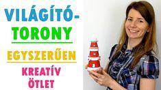 Világítótorony készítése | Vidám kreatív ötlet | Manó kuckó Water Bottle, Youtube, Pencil, Drawing, Instagram, Water Flask, Water Bottles, Sketches, Draw