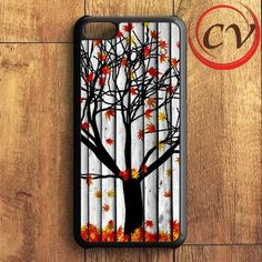 Autumn Leaf Wood iPhone 5C Case