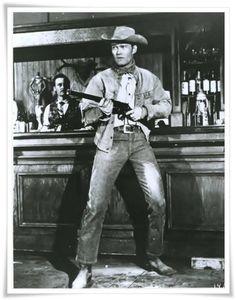 "Chuck Connors as Lucas McCain   ""The Rifleman""                                           The Rifleman"