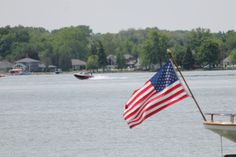 Lake James & the Red White and Blue