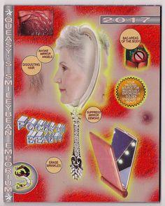 Queasy's Smileybean Emporium III: Focus On Beauty Fancy, Illustrations, Zine, Wall Prints, Art Inspo, Art Direction, Screen Printing, Cool Art, Design Inspiration