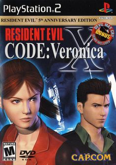 Resident Evil CODE Veronica X [Greatest Hits] (Sony PlayStation Complete UPC: 013388260034 Condition: Very Good Pre-owned. Item sold as pictured. Resident Evil Code Veronica, Resident Evil 5, T Shirt Designs, Juegos Ps2, Evil Games, Nostalgia, Valentine Day Boxes, Jill Valentine, Valentines
