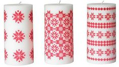 3. YRSNÖ Block Candle - 8 Amazingly Beautiful Yet Fun Winter Home Decorations ... | All Women Stalk