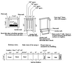 bat house plans - Google Search | bats | Pinterest | Bat house plans on garden plans, bat outline template, bat romance, bat removal, florida home building plans, bat symbol, bat furry, bat traps, bat houses placement, bat houses that work, bird feeder plans, bat scat, bat drawings, bat box placement, bat food, bat houses product, bluebird feeder plans, bat boner, bat tile, chicken coop plans,
