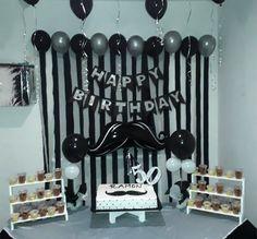 2nd Birthday Party For Boys, Baby Birthday Cakes, Father Birthday, Happy Birthday, Ideas Decoracion Cumpleaños, Ideas Para Fiestas, Birthday Decorations At Home, Cake For Husband, Balloons