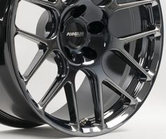 Our new Black Chrome PVD finish is now available! Looks like black chrome, but it is actually a PVD (physical vapor deposition) coating which is less susceptible to corrosion and chipping than real chrome. Available as an optional finish upgrade on all 1pc forged monoblock wheels for $200/wheel. See more at: http://www.forgeline.com/products/accessories-finishes/center-and-monoblock-finishes/optional-finish/c-black-chrome-pvd.html  #Forgeline #forged #monoblock #SE1…