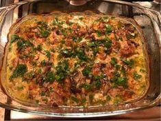 Sertéskaraj vadász módra Meat Recipes, Recipies, Cooking Recipes, Good Food, Yummy Food, Ciabatta, Lasagna, Quiche, Hamburger